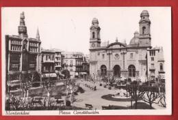 AFAN-001 Montevideo Plaza Constitucion  Non Circulé. - Uruguay