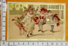 Chromo Fin 19° / Au Bon Marché / Minot / Bal D'enfants Costumés / Intermede / Jeu Enfant Fête Carnaval - Au Bon Marché
