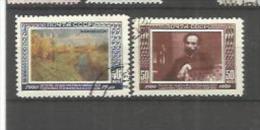 RUSSIE RUSSIA  URSS   Y Et T  No  1501  1502  ( O ) - Oblitérés
