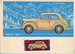 AK TRANSPORT AUTOMOBIL KIM 10. - 1940. RUSSLAND RUSSIA GROSSE FORMAT POSTKARTE - Ansichtskarten