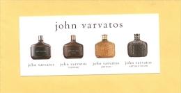 JOHN VARVATOS - MULTICHOIX - Modernes (à Partir De 1961)