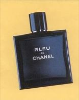 CHANEL - BLEU - Perfume Cards