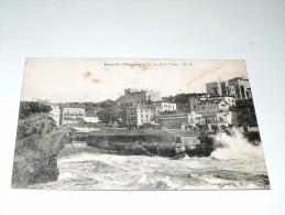 Carte Postale Ancienne : BIARRITZ : Le Port Vieux En 1918 - Biarritz