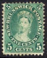 New Brunswick #8 Used 5c Victoria From 1860 - New Brunswick