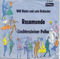 """"""" Rosamunde, Will Glahé Und Sein Orchester """" Disque Vinyle 45 Tours - Sonstige - Deutsche Musik"""
