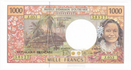 """Polynésie Française / Tahiti - 1000 FCFP - """"NOUVEAUTE"""" / J.053 / 2013 / Signatures Noyer/de Seze/La Cognata - Neuf / UNC - Papeete (Polynésie Française 1914-1985)"""
