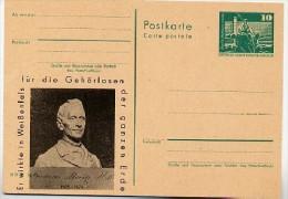 DDR P79-9-74 C19 Postkarte PRIVATER ZUDRUCK Friedrich Moritz Weißenfels 1974 - Privatpostkarten - Ungebraucht