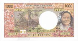 """Polynésie Française / Tahiti - 1000 FCFP - """"NOUVEAUTE"""" / O.053 / 2013 / Signatures Noyer/de Seze/La Cognata - Neuf / UNC - Papeete (Polynésie Française 1914-1985)"""