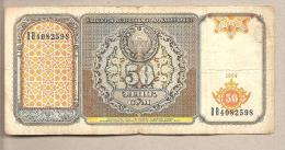 Uzbekistan - Banconota Circolata Da 50 Som - 1994 - Uzbekistan