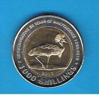 UGANDA - 1000 Shilling  2012 SC - Uganda