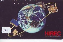 Télécarte Japon ESPACE * Phonecard JAPAN * SPACE  (478)  PLANETE * Météorite * COSMOS * GLOBE * TELEFONKARTE * WELTRAUM - Astronomie