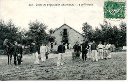 Camp De Coëtquidan  - L´Infirmerie - Autres Communes