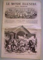 Le Monde Illustré Du 25 Mai 1861, En Première Page Gravure Relative à La Guerre De Sécession. - Journaux - Quotidiens