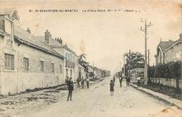 44 SAINT SEBASTIEN LES NANTES LE FRENE ROND ROUTE DE CLISSON - Saint-Sébastien-sur-Loire