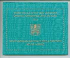 2013 VATICANO 2 EURO XXVIII GIORNATA MONDIALE DELLA GIOVENTU' - RIO DE JANEIRO FOLDER VATIKAN PAPA FRANCESCO, - Vatican