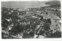 Environ Du Lavandou, Bormes, Var, Vue Panoramique De La Favières Et Des Iles D'Or, Cpsm, Combier, écrite - Le Lavandou