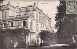 BECON-LES-BRUYERES (Hauts De Seine)  Château De Bécon - La Terrasse - VOIR 2 SCANS - - Francia