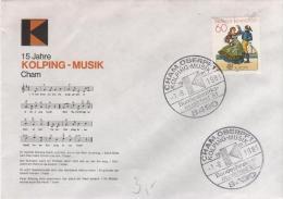 DEUTSCHLAND  CHAM OBERPF  15 Jahre Kolping Musik  1/08/81 - Musik