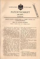 Original Patentschrift - M. Fauck In Kobylanka Und Marcinkowice , 1899 , Bohrer Für Kernbohrung , Erdbohrer !!! - Historische Dokumente
