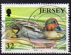 JERSEY 2004 Nature Ducks & Swans 32p Used - Jersey