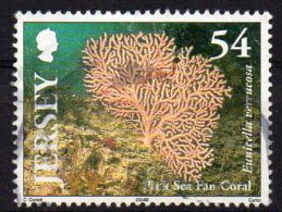 JERSEY 2004 Marine Life Corals 54p Used - Jersey