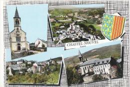 Z 1078 CPM  CHASTEL NOUVEL MULTIVUE - Autres Communes