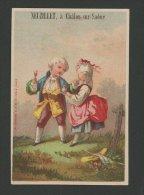 Châlon Sur Saône, Neuzillet, Chromo Lith. Bognard, Couple En Costume - Chromos