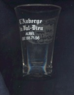Auberge Du Val-Dieu - Aubel, Charneux, Herve - Verre à Liqueur Ou Alcool - Glazen
