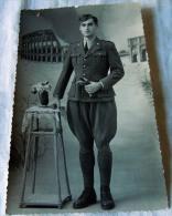 FOTO MILITARE -- WWII 2 GUERRA  ??  SANITA ??  NOMINALE - Guerre, Militaire