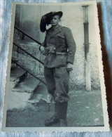 FOTO MILITARE -- WWII 2 GUERRA  BERSAGLIERE - Guerre, Militaire