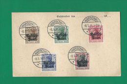DT.REICH 1916***RUSSISCH POLEN - WARSCHAU***BELEG - Occupation 1914-18