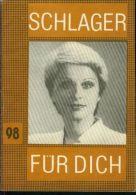 DDR Ostalgie Schlager Für Dich Nr. 98 Dagmar Frederic 1982 - Musik & Instrumente