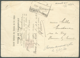S.N.C.B. - Titre De Transport Pour 10 Jours Avec Cachet Ferroviaire De FRASNES-lez-GOSSELIES Du 5 Décembre 1940 (occupat - Railway