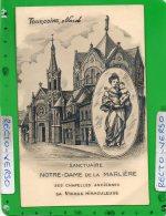 TOURCOING SANCTUAIRE NOTRE DAME DE LA MARLIERE - Tourcoing