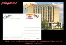 CUBA. ENTEROS POSTALES. TARJETA POSTAL FRANQUEO PREPAGO. 1998 EDIFIL 14. BIBLIOTECA NACIONAL JOSÉ MARTÍ - Altri