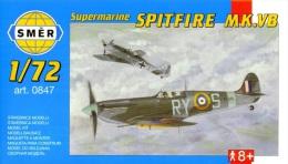 - SMER - Maquette SPITFIRE MK.VB - 1/72°- Réf 847 - - Avions