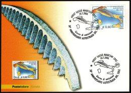 CAR - ITALIA SASSO MARCONI (BO) 2006 - 50° ANNIVERSARIO AUSTRADA DEL SOLE - CARTOLINA POSTE CON ANNULLO PRIMO GIORNO - Automobili