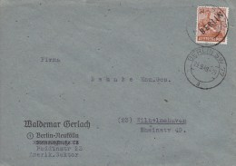 Berlin; Cover 1948 - Briefe U. Dokumente