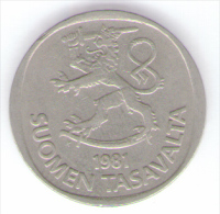 FINLANDIA 1 MARKKA 1981 - Finlandia