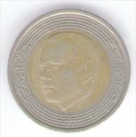 MAROCCO 5 DIRHAMS 2002 BIMETALLICA - Marocco