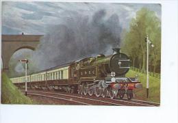 The Southern Belle Near Morsthan (Surrey)  Locomotive De Grande Bretagne - Trains
