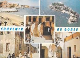 Afrique SENEGAL Souvenr De Gorée Multi Vues (b) (port, Île,Maison Des Esclaves ) (A.D.P DAKAR 4341) * PRIX FIXE - Senegal