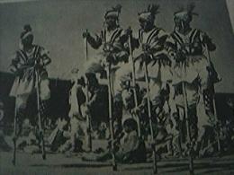 Magazine Item - 1930s Stilt Dancers At A Festival Of New Delhi - 1950-Hoy