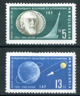 BULGARIA 1962** - Space Pioneer - 2 Val. MNH Come Da Scansione - Space