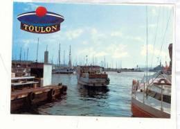 AR 24 Toulon Depart Vedette Rade Bateaux Passagers . 201 Leo Le Pradet .  Beret Marin Pompon - Toulon