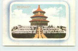 PEKING  - Temple Of Heaven - China