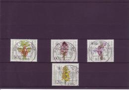 Michel Katalog Nr. 1225 - 28  Wohlfahrt 1984:  Orchideen - Gebraucht