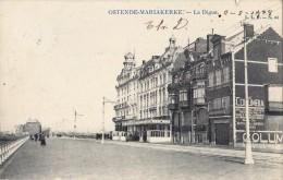 OSTENDE   -MARIAKERKE   La Dique  1905 - Oostende