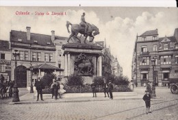 OSTENDE   Statue DeLéopold I - Oostende