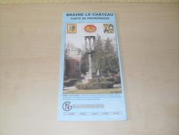Carte De Promenades De Braine Le Château - Pubblicitari